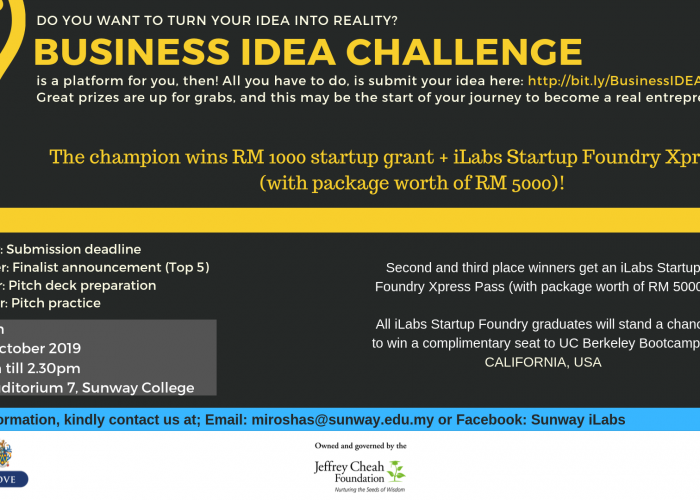 Business Idea Challenge